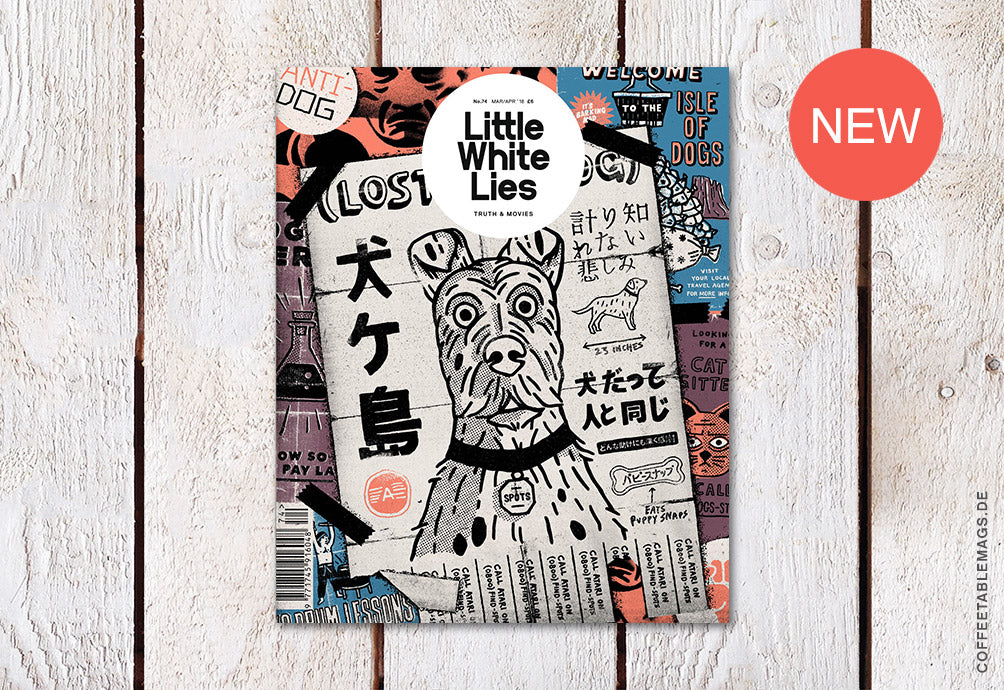 Little White Lies – Issue 74: Isle of Dogs – Cover