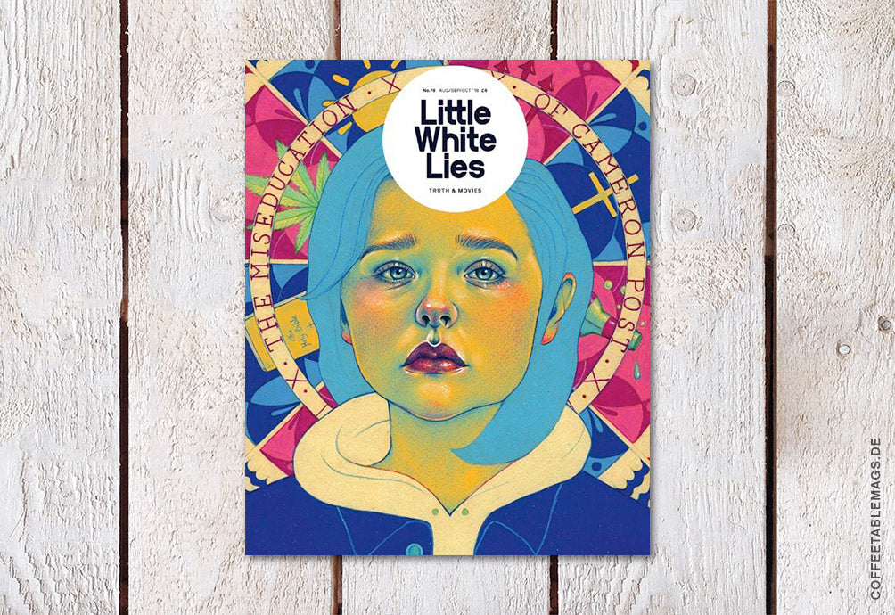 Little White Lies – Issue 76: The Miseducation of Cameron Post – Cover