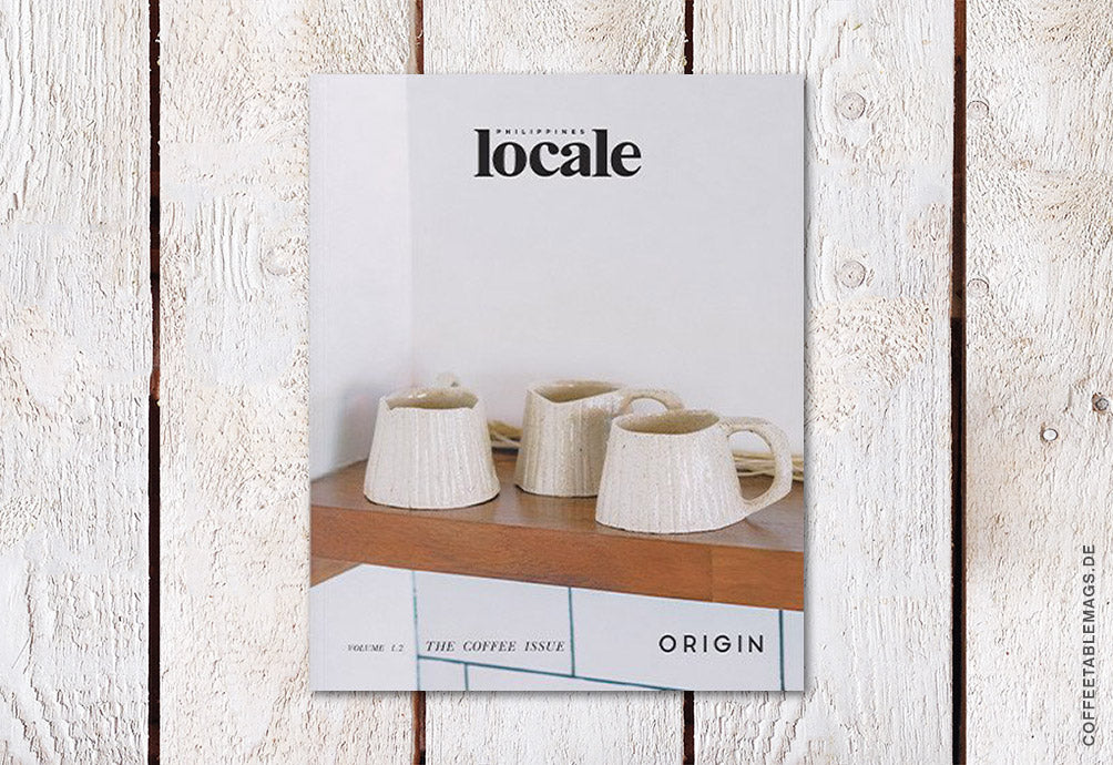 Locale Magazine – Issue 2: The Coffee Issue – Cover