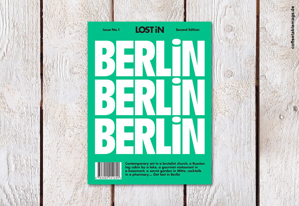 LOST iN City Guide – Issue 01 – Berlin – Cover