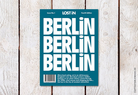 LOST iN City Guide – Issue 01 – Berlin (fourth edition) – Cover