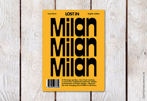 LOST iN City Guide – Issue 06 – Milan – Cover