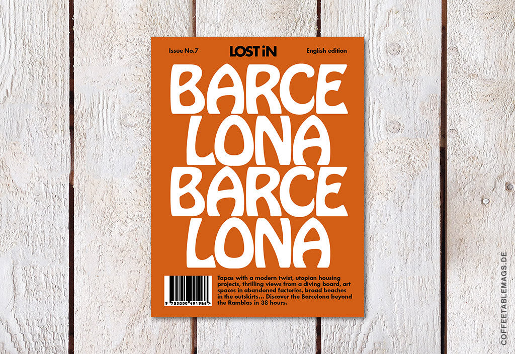 LOST iN City Guide – Issue 07 – Barcelona – Cover