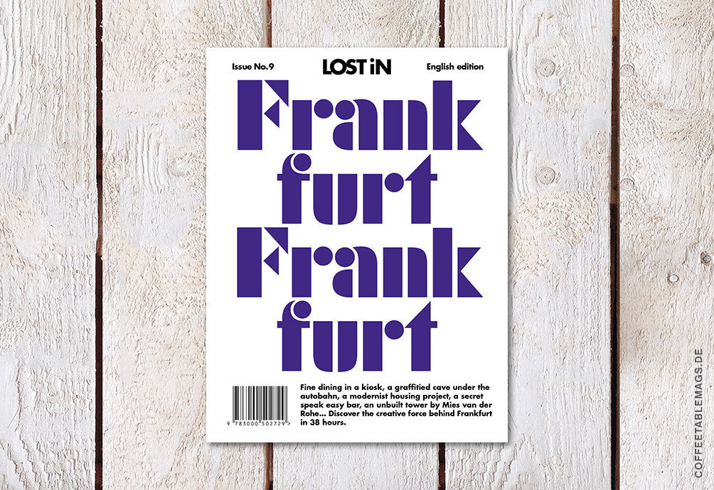 LOST iN City Guide – Issue 09 – Frankfurt