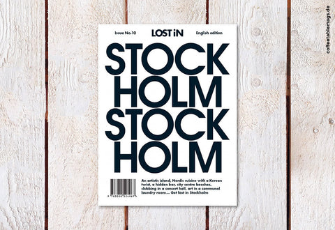 LOST iN City Guide – Issue 10 – Stockholm