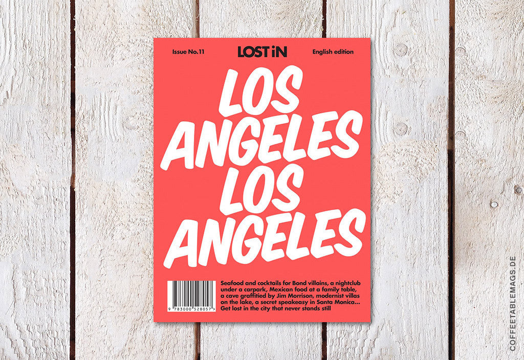 LOST iN City Guide – Issue 11 – Los Angeles – Cover