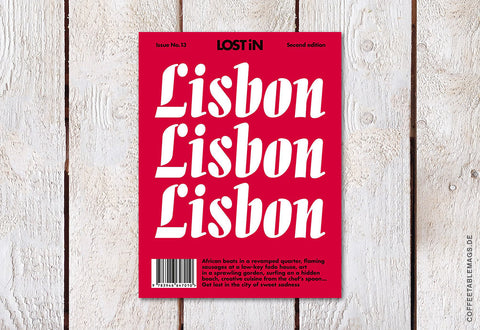 Coffee Table Mags // Independent Magazines // LOST iN City Guide – Issue 13 – Lisbon (Second Edition) – Cover