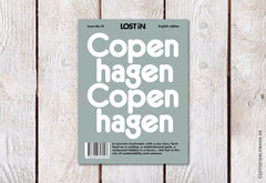 LOST iN City Guide – Issue 14 – Copenhagen – Cover