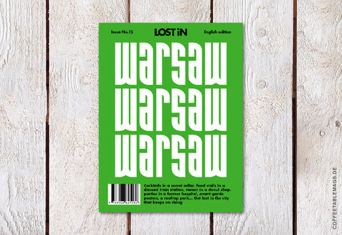 LOST iN City Guide – Issue 15: Warsaw