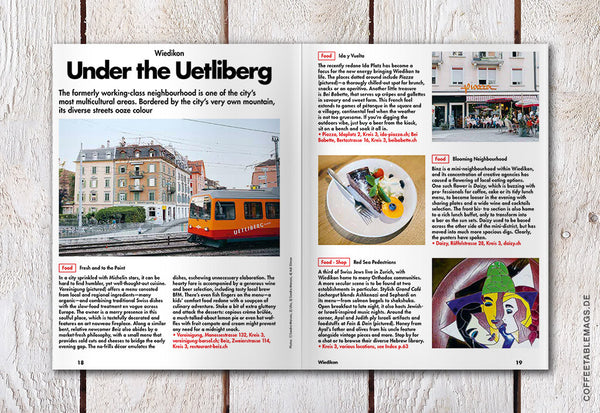 LOST iN City Guide – Issue 16: Zurich – Inside 01