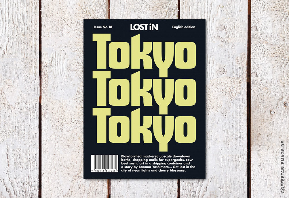 LOST iN City Guide – Issue 18: Tokyo – Cover