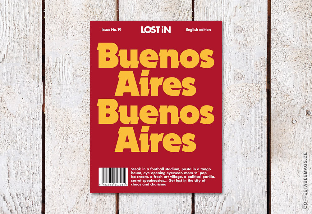 LOST iN City Guide – Issue 19: Buenos Aires – Cover