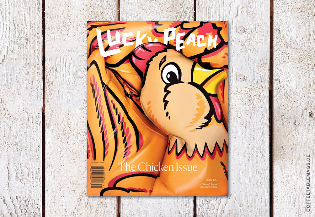 Lucky Peach – Issue 22: The Chicken Issue – Cover