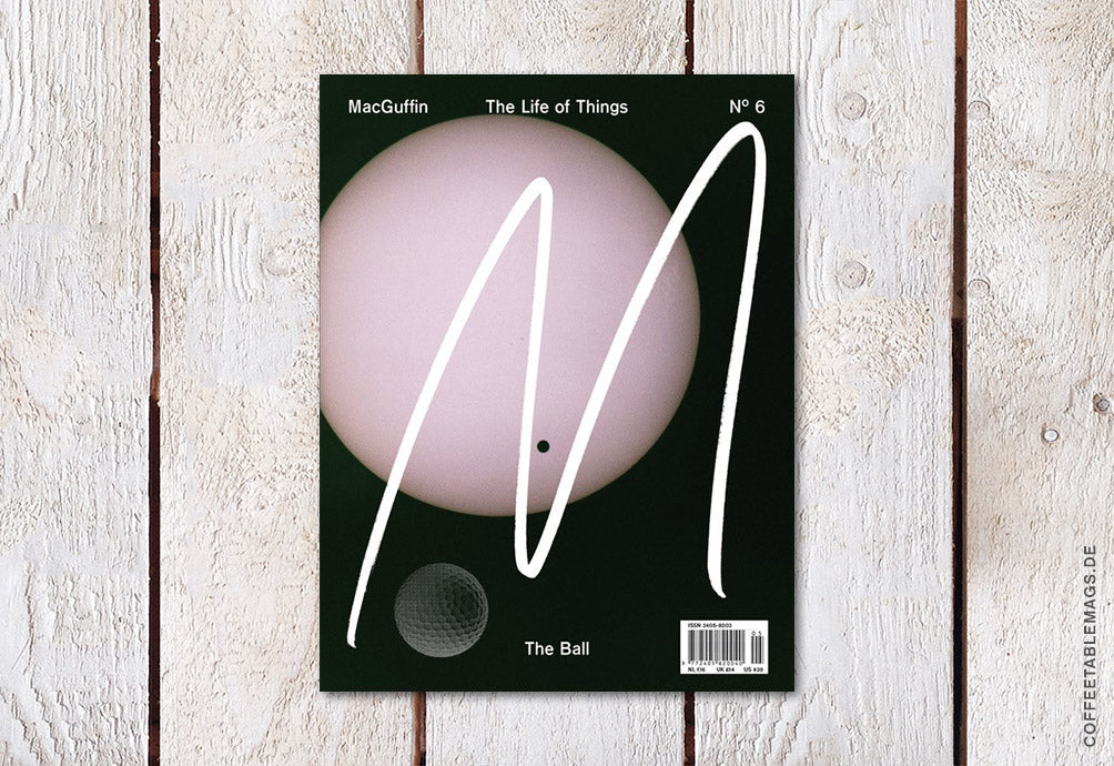 MacGuffin Magazine – Issue 06: The Ball – Cover