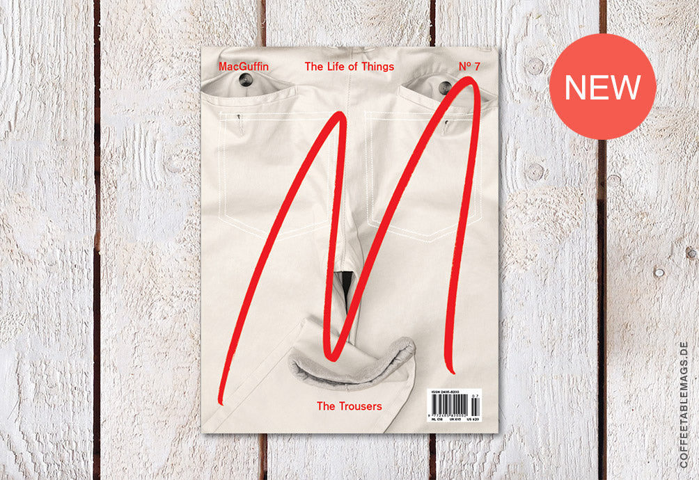 Coffee Table Mags / Independent Magazines / MacGuffin Magazine – Issue 07: The Trousers – Cover