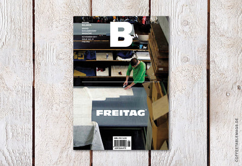 Magazine B – Issue 01: Freitag (Reprint) – Cover