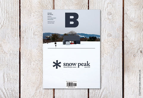 Magazine B – Issue 03: Snow Peak (Reprint) – Cover