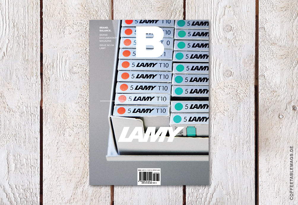 Magazine B – Issue 04: Lamy (Reprint) – Cover