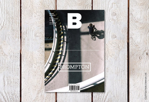 Magazine B – Issue 05: Brompton (Reprint) – Cover