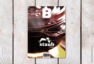 Copy of Magazine B – Issue 07: Staub – Cover