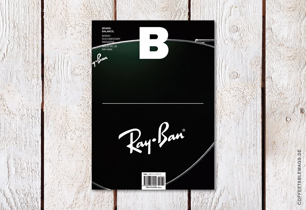 Magazine B – Issue 08: Ray-Ban – Cover