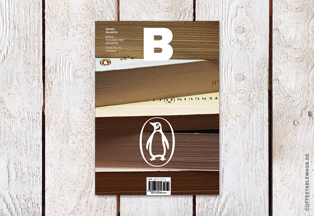 Magazine B – Issue 10 (Penguin) – Cover