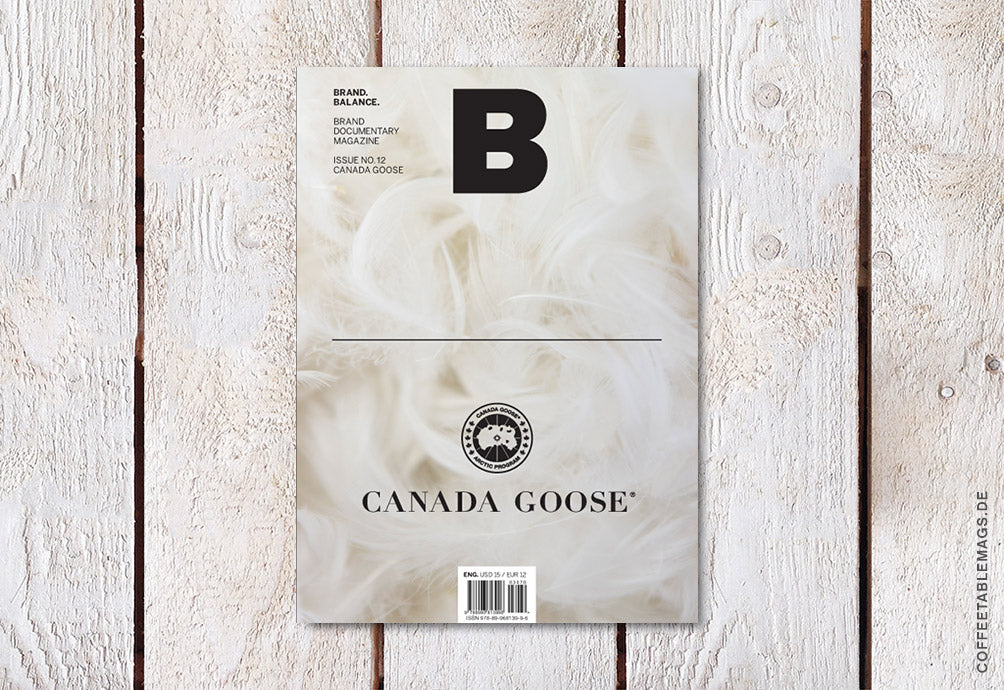 Magazine B – Issue 12: Canada Goose – Cover