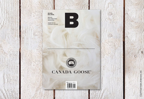 Magazine B – Issue 12: Canada Goose