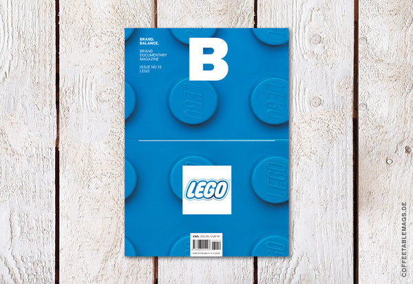 Magazine B – Issue 13 (Lego) – Cover