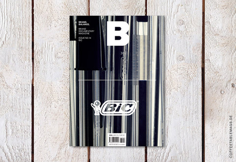Magazine B – Issue 14: BIC – Cover