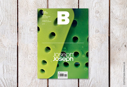 Magazine B – Issue 15: Joseph Joseph – Cover