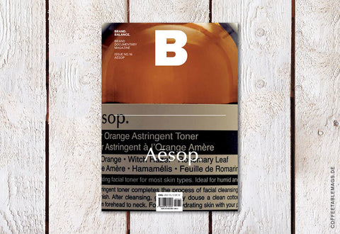 Magazine B – Issue 16 (Aesop)