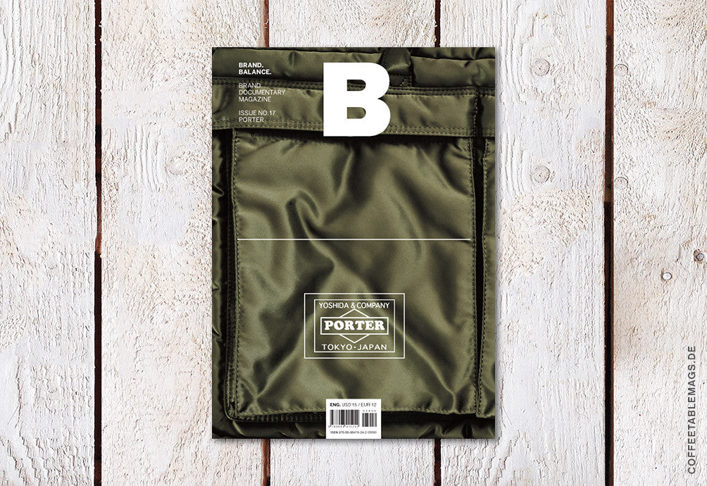 Magazine B – Issue 17: Porter – Cover