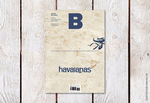 Magazine B – Issue 18: Havaianas – Cover