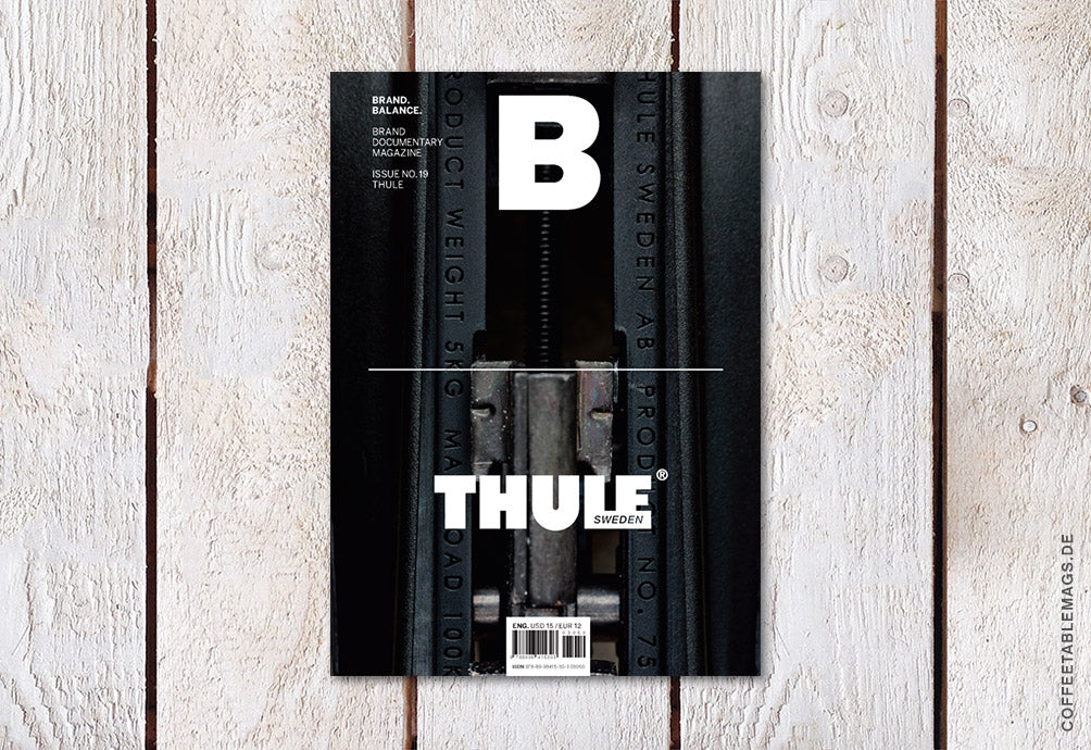 Magazine B – Issue 19: Thule – Cover