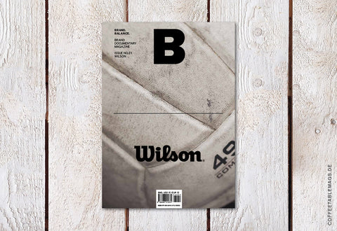 Magazine B – Issue 21: Wilson – Cover