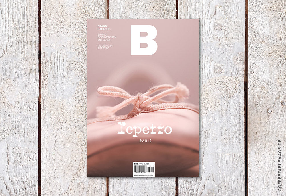Magazine B – Issue 24: Repetto – Cover