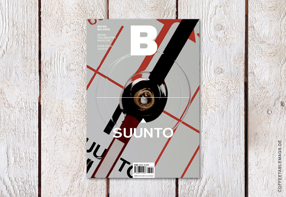 Magazine B – Issue 25: Suunto – Cover