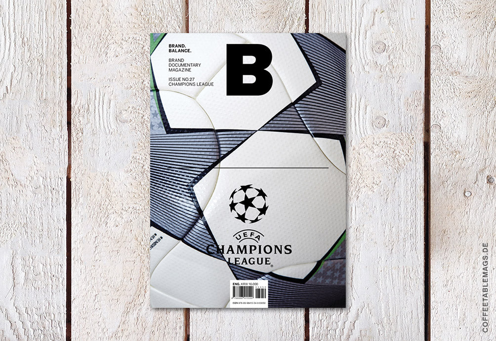 Magazine B – Issue 27: Champions League – Cover