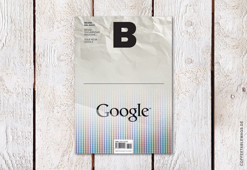Magazine B – Issue 28 (Google) – Cover