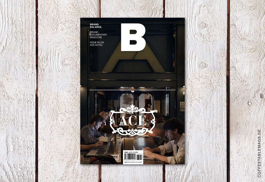 Magazine B – Issue 29 (Ace Hotel) – Cover