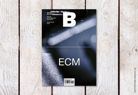 Magazine B – Issue 30: ECM – Cover
