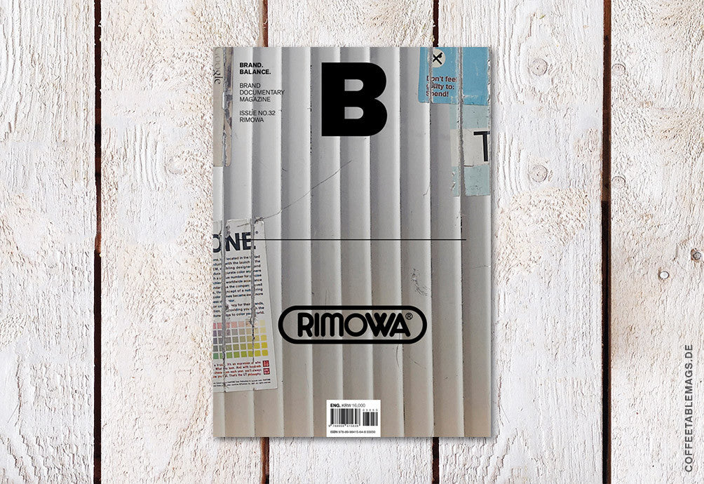 Magazine B – Issue 32 (Rimowa) – Cover