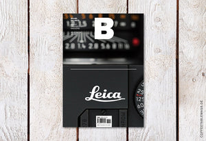 Magazine B – Issue 34 (Leica) – Cover