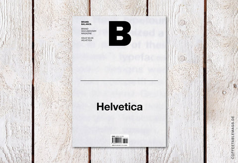Magazine B – Issue 35 (Helvetica)