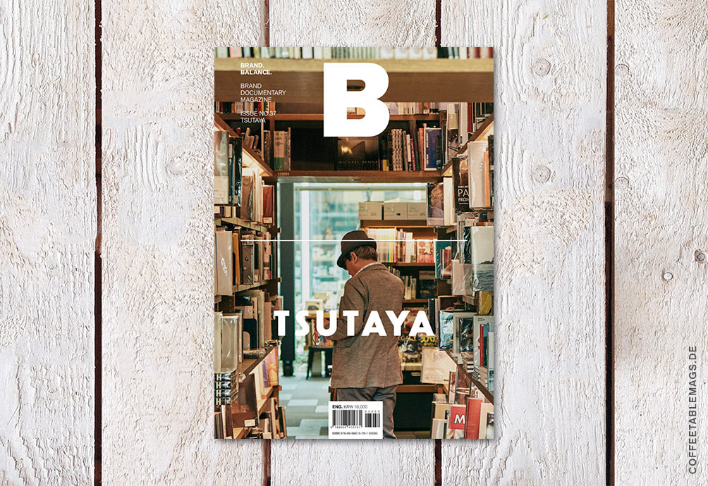 Magazine B – Issue 37: Tsutaya – Cover