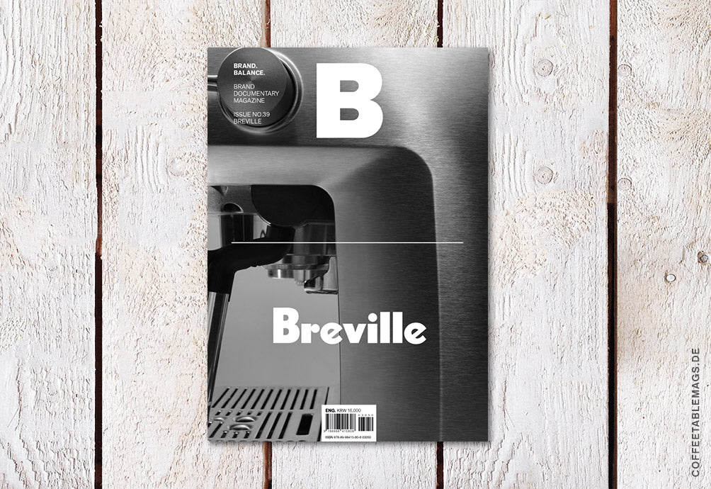 Magazine B – Issue 39: Breville – Cover