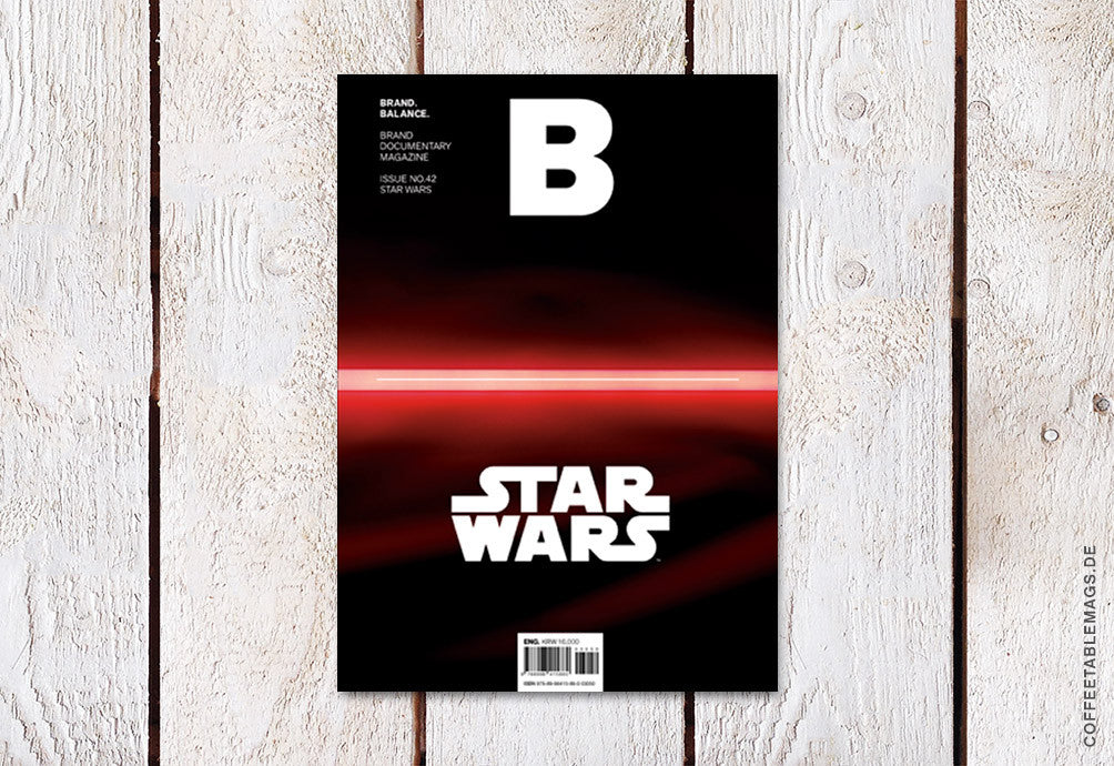 Magazine B – Issue 42 (Star Wars) – Cover