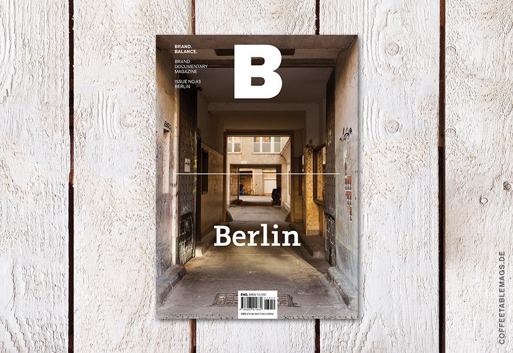 Magazine B – Issue 43 (Berlin) – Cover