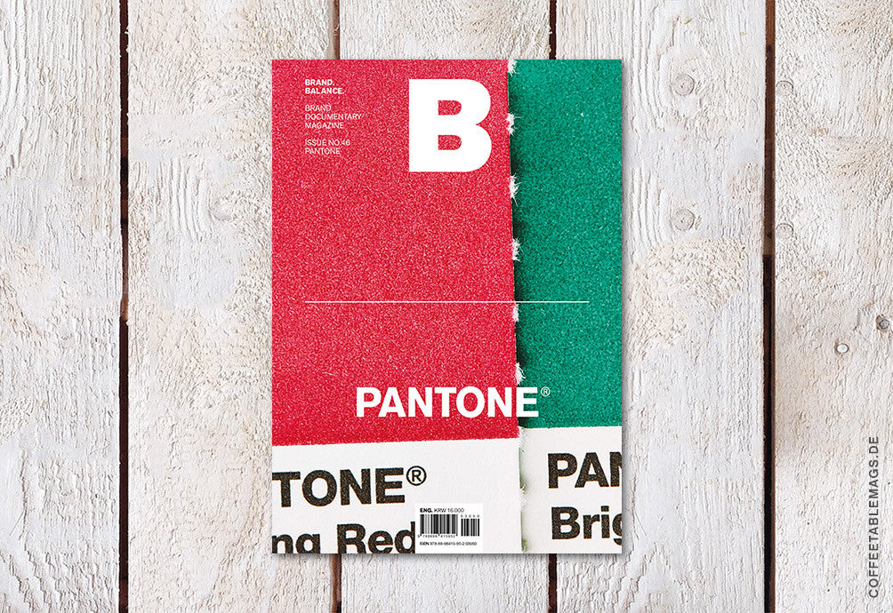 Magazine B – Issue 46 (Pantone) – Cover